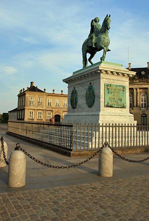 La statue de Frédéric V
