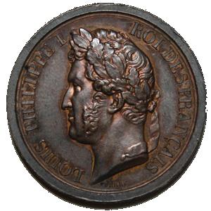 Médaille Louis Philippe I - Roi des Français