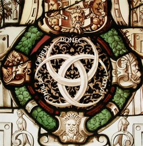 Emblème d'Henri II aux trois croissants