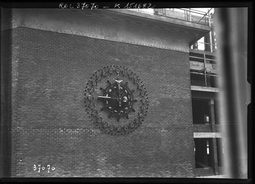 L'horloge en 1914