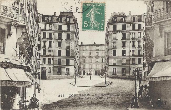 Le square Simón Bolívar